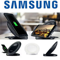 OEM Wireless Fast Charger Qi Stand Pad /Fast Travel Adapter For S7 Edge Note 7