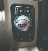 Dodge Ram 1500 REBEL Shifter Sticker Decal Graphic Shift Knob TRX SXT SLT