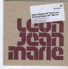 (FG372) Leon Jean Marie, Scratch / Make It Right - DJ CD