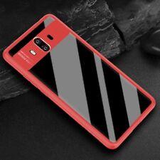 ORIGINAL ROCK Funda carcasa para Huawei Mate 10 Pro Estuche Protección Rojo
