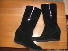 Ladies Aquatalia Black Boots Size 38/5UK