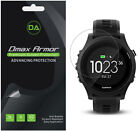 6-Pack Dmax Armor HD Clear Screen Protector shield for Garmin Forerunner 935