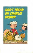 Dont Tread on Charlie Brown by Charles M Schulz - Fast Dispatch
