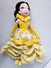 "Disney Belle Plush Doll 16"" tall. Sanitized. #B"