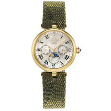 GV2 by Gevril 12503 Women's Florence Diamond Swiss Quartz Moonphase Watch