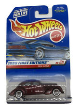 1999 Hot Wheels First Editions 1/26 1936 Cord Lace Wheels Burgundy Purple #649