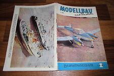 MODELLBAU und BASTELN  # 1/1961 -- Zeitschrift für DDR Heimwerker / Geburtstag ?
