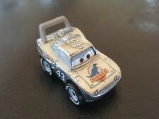 DISNEY PIXAR CARS DIE CAST MINI RACERS SILVER STRIP WEATHERS THE KING LOOSE FREE