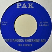 "Phil Kindler Chattanooga Shoeshine Boy Country Bopper Rockabilly NM 45 7"" Vinyl"