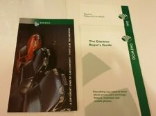 DAEWOO RANGE 1995 UK  Sales Brochure / trim guide / pricelist   - Espero Nexia