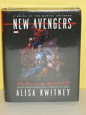 NEW AVENGERS: BREAKOUT HC - Novel Adapted by ALISA KWITNEY - Marvel - SEALED