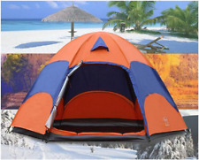 Pop Up Camper Tent Outdoor Large 5-8 Person Hiking Camping Anti UV Portable NEW