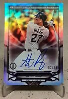 2016 Topps Tribute Foundations of Greatness ANTHONY RIZZO Auto /99