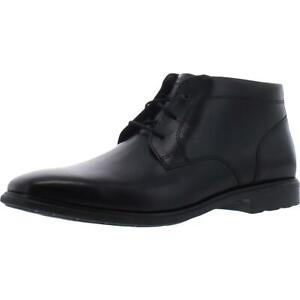Rockport Mens Business 2 Leather Waterproof Work Chukka Boots Shoes BHFO 7250