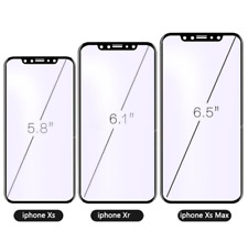 FULL SCREEN Tempered Glass Protector For 3D HD Apple iPhone 7 8 X Plus XR XS MAX