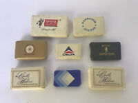 Vintage Lot of 12 soaps travel size US and Worldwide Hotel Airlines Places