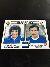 Panini Espana 82 - Mora - Recinos