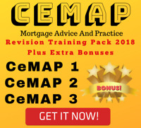 CeMAP 1 2 3 - Revision Package - Q&A - Mortgages 2018 & 2016 (Digital Download)