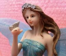 Tall Elegant Fairy with Butterfly Statuette