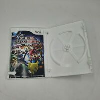 WII Nintendo Super Smash Bros Brawl original case & Manual ONLY NO GAME INCLUDED