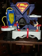 Superman Imaginext DC Super Friends Playset Toy Fisher Price 2013 w Wonder Woman