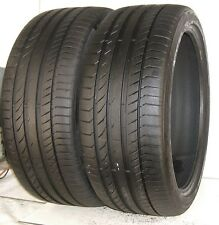 USED PAIR Continental Tires 265/35R21 ContiSportContact 5P AO 101Y XL 2653521