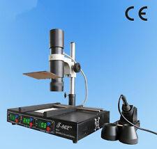 CE Puhui T-862 SMD&BGA rework station IRDA Welder Infrared Heating Rework