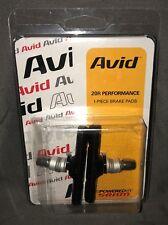 Avid 20R One-Piece Brake Pads (Pair) - Black