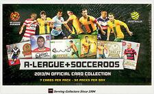 2013-14 Australia A League + Socceroos Trading Cards Factory Case (12+Case Card)