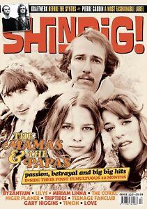 Shindig Magazine Issue 113 - Mamas & The Papas, Kraftwerk, Love, Teenage Fanclub