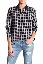RAG & BONE Plaid Boyfriend Shirt Top Size XS NWT $195