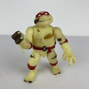 1993 Teenage Mutant Ninja Turtles Glow In The Dark Raphael Mummy Action Figure