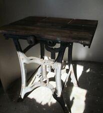 Antique cast iron table saw  base Union