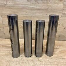 1 38 Solid Steel Round Bar Stock 8620 Shaft Blacksmith Machining Lot Of 4