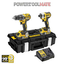 DeWalt NEW DCK266P2 Combi Drill/Impact XR 18V Brushless Kit -2x 5Ah Batteries