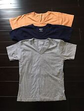 Three M-body Tee Shirts, Size S