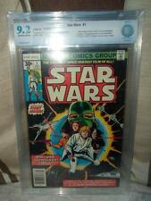 Marvel Comics CBCS CGC STAR WARS 1st app Luke leia Han solo 9.2 high grade