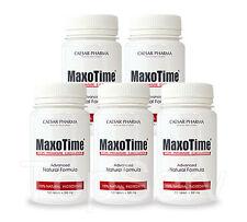 5 MaxoTime Stay Hard CLIMAX CONTROL ORGASM Premature Ejaculation #1 PILLS !