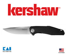 """Kershaw 4037 Atmos Folding Knife 3"""" 8Cr13MoV Blade G10 with carbon fiber Handle"""