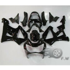 For CBR929RR 2000 2001 Honda Glossy Black Fairing Kit Plastic Bike 929 RR 00-01