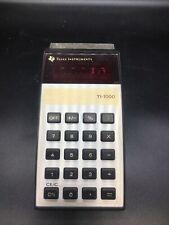 Vintage Texas Instruments electronic calculator Ti-1000 handheld Working