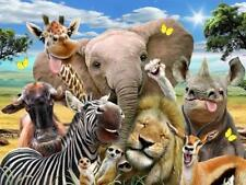 Animals Cardboard 3D Puzzles
