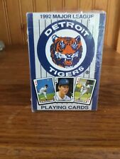 Detroit Tigers Playing Cards 1992 sealed