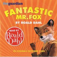 Fantastic Mr Fox Read By Road Dahl  -Audio CD N/Paper TG