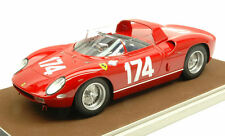 Ferrari 250 P #174 Accident Targa Florio 1963 M. Parkes / J. Surtees 1:18 Model