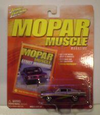 Johnny Lightning 2005 Mopar Muscle *1968 Plymouth Barracuda* metallic purple