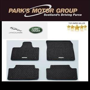 Genuine Jaguar I-Pace Rubber Floor Mat Set  (Front & Rear) T4K1599