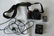 Nikon D60 (D40x) 10.2MP Digital-SLR DSLR Camera Body only with some accessories