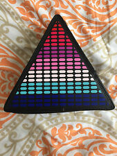 CLUBEXX Triangle Light Up Rave Backpack