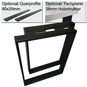 Tischkufen Tischgestell Tischbeine Tischrahmen Tischuntergestell Loft Industrie